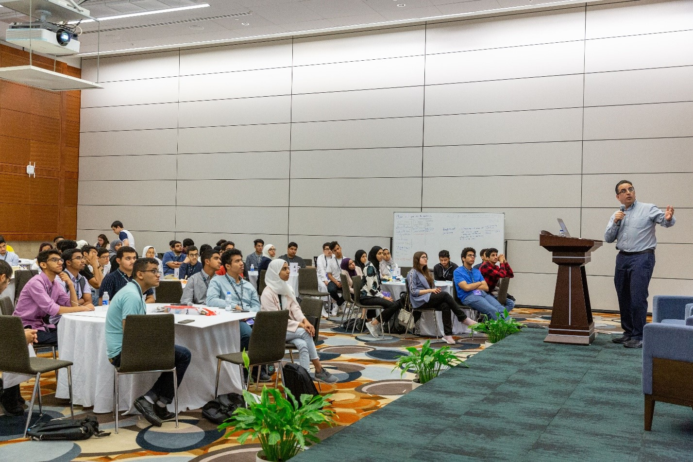 KAUST Professor Husam Alshareef presents on latest developments in research related to Material Science and Engineering.