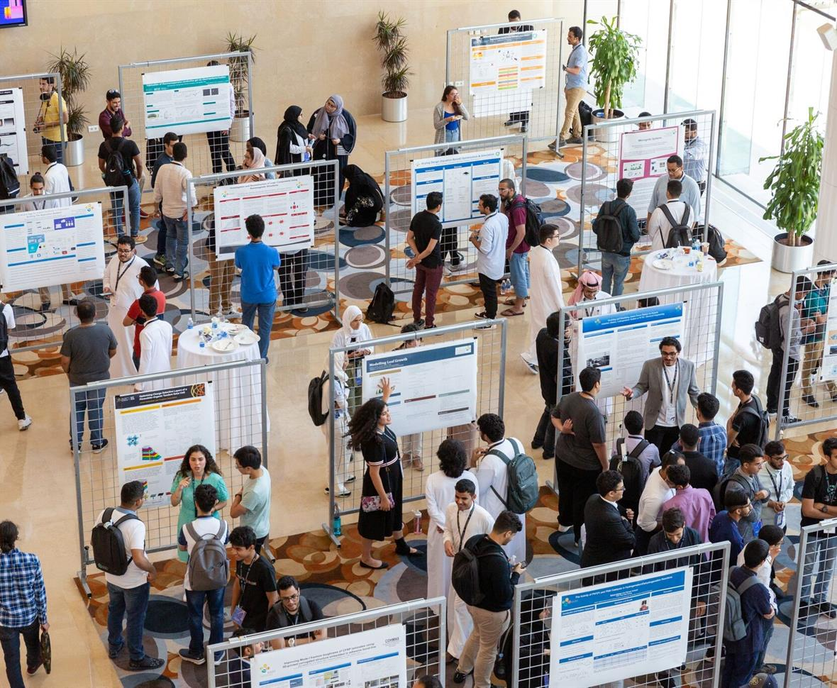 Rising KGSP Seniors present their summer research to KAUST faculty and incoming Cohort 11 students.