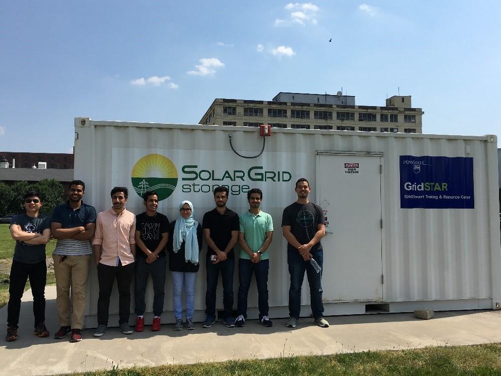 KGSP Freshmen Visit the Penn State GridSTAR Research Center