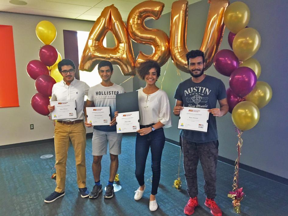 KGSP Students' Business Pitch Wins at ASU's Global Launch Program