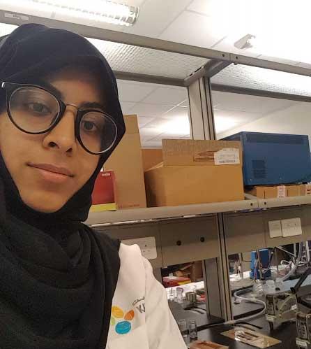 Student Enrichment Spotlight: Eman Alhajji